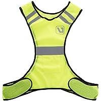LiveUp Sports, Reflective Vest gilet catarifragente da corsa per uomo/ donna, TG Unica