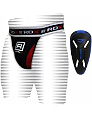 RDX Boxe Anatomique Coquille MMA Suspensoir Slip Sport Coquilles Protection