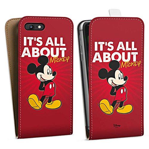 Apple iPhone X Silikon Hülle Case Schutzhülle Disney Mickey Mouse Merchandise Geschenke Downflip Tasche weiß