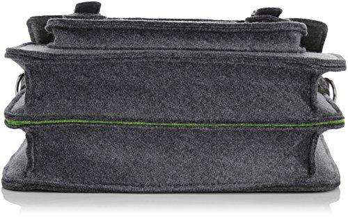 Urban Country , Borsa Messenger  Unisex, grigio (Grigio) - UC008002-Grey grigio