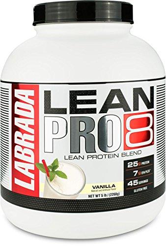 Labrada lean pro 100% whey 5lb (vanilla)