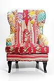 Patchwork è completamente in tendenza. Kare dalla sedia, non è solo un super confortevole, ma soprattutto progettato per colore in salotto o schlafzimmer. quattro gambe in legno per garantire la stabilità, un buon esempio, con una morbida imb...