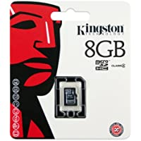 Kingston Technology 8GB microSDHC - Tarjeta de memoria (8 GB, Micro Secure Digital High-Capacity (MicroSDHC), Negro, -25-85 °C, -40-85 °C, 1,4g (0.0494 oz))
