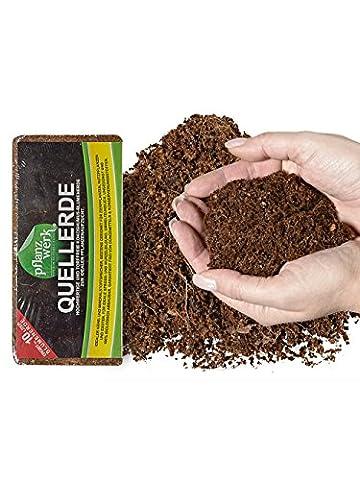PFLANZWERK® sol pour planteurs et d'empotage 60 Litre *100% BIO * * sol exempt de tourbe 100% * * PRODUIT DE