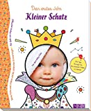 Kleiner Schatz - Babyalbum für Mädchen und Jungen: Dein erstes Jahr