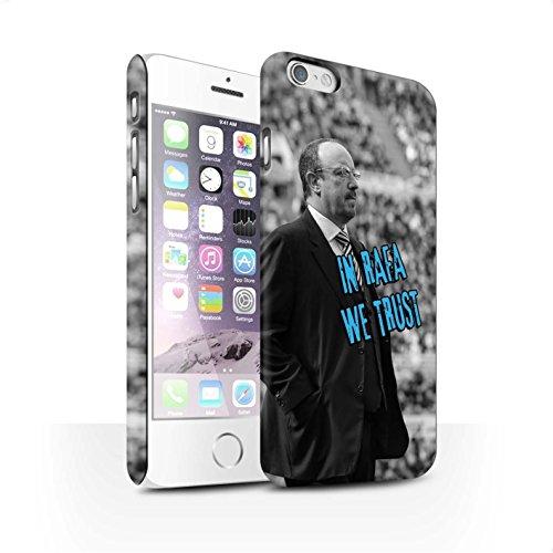 Officiel Newcastle United FC Coque / Clipser Matte Etui pour Apple iPhone 6S / Pack 8pcs Design / NUFC Rafa Benítez Collection Nous Avons Confiance