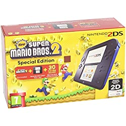 Nintendo 2Ds Color Azul + New Super Mario Bros 2