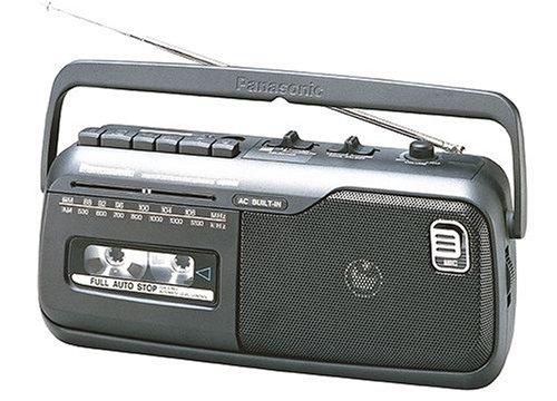 Panasonic RX-M40E9-KMono-Radiorecorder (Kassettendeck) schwarz Panasonic Car-audio