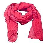 Damen Frühjahrschal Sommer-Schal in rot Damenschal Halstuch Mädchenschal