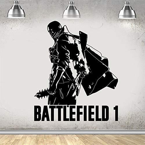 Battlefield 1 Gaming Xbox Ps4 Spiel Wandkunst Aufkleber Kunst Aufkleber Jungen Mädchen Wohnzimmer Schlafzimmer Poster 58 * 69 Cm