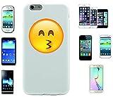 Teléfono Móvil 'diseño cara con ojos sonriente' para Apple Samsung- LG- Huawei- Sony- HTC/Teléfono celular tapa para iPhone 4,5,6,7- Galaxy s2,3,4,5,6,7- -- p9- con Smiley- Emoji Sony XPERIA Z 5