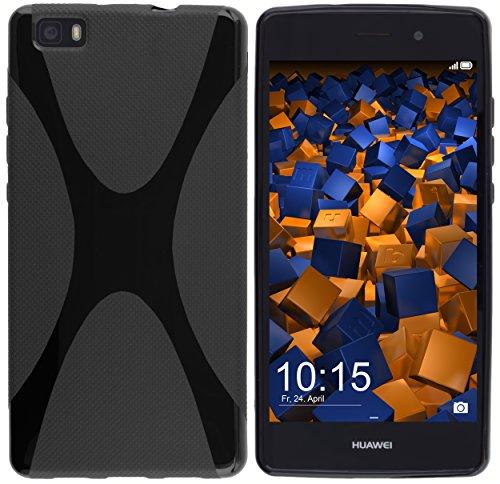 mumbi X-TPU Schutzhülle Huawei P8 Lite Hülle (nicht für das P8 Lite Smart)
