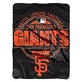 Northwest MLB New York Yankees Struktur Micro Raschel Überwurf, MLB059020026RET, Orange, 46 x 60-Inch