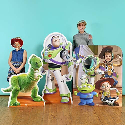 Star cutouts - Stsmp55 - 6 Masques pour Adulte Différents Personnages - Toy Story - Taille Unique