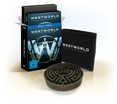 Westworld Staffel 1: Das Labyrinth als Ultimate Collector\'s Edition (Limited Edition) [Blu-ray]