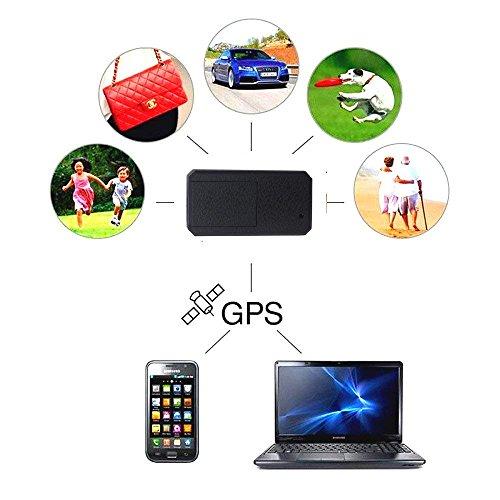 XBXB Mini GPS Tracker,Anti Dieb Mini Echtzeit GPS Tracker Portable GPS Ortung Anti Verlust GPS Locator für Geldbörse Kinder Schulranzen Wichtige Dokumente Verlorener Sucher