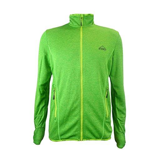 Mckinley H-Fleece-Jacke Roto II - MULTI./GREEN/GREEN MULTI./GREEN/GREEN