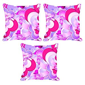 Digital Printed Cushion with superier Filler inseted 12x12 set of 3 by Aart Store.