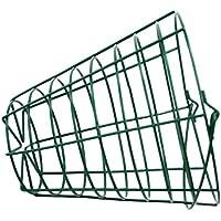 MagiDeal Campo de Golf Cubo de Alambre de Acero Cesta de Golfball Color Verde - 100 Bolas