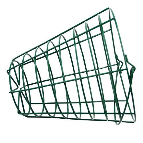 MagiDeal Aufbewahrungskorb Metall Rund Drahtkorb Dekokörbe Metallkorb für Küche, Regale Golfball Korb - Fit 100 Bälle -