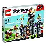 LEGO Angry Birds - Castillo del rey cerdo, juegos de construcción (75826)