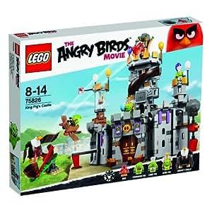Lego Angry Birds 75826 - il Castello del Re Maiale, Gioco di Costruzioni