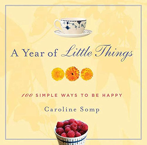 A Year of Little Things: 100 Simple Ways to Be Happy (English Edition)