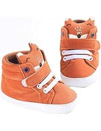 Reasoncool Baby Girl ragazzi Fox High Cut Shoes Sneaker antiscivolo morbida Sole Bambino