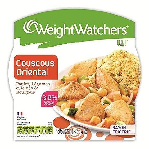Weight Watchers couscous oriental poulet légumes et boulgour 300g - ( Prix Unitaire ) Envoi Rapide Et