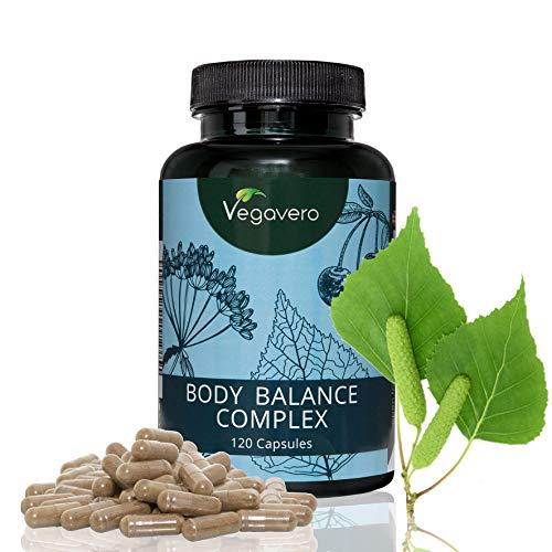 Drenante naturale vegavero | depurativo – ritenzione idrica – diuretico | formulazione unica solo a base di estratti vegetali | senza additivi | 120 capsule | vegan