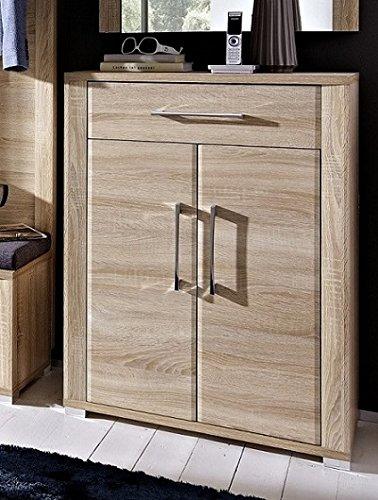 Stella Trading OGHH153011 Garderobe, Holz, braun, 40 x 74 x 100 cm