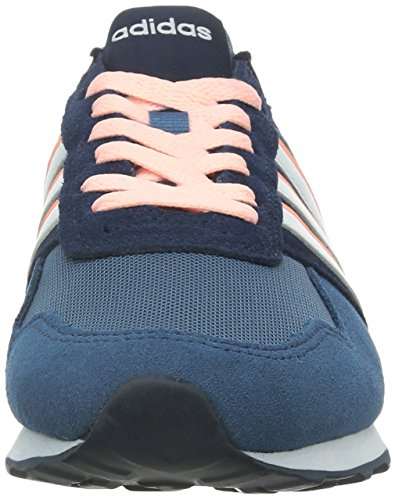 adidas 10k W, Scarpe da Ginnastica Donna Blu / Bianco / Rosa (Azucen / Ftwbla / Nadecl)