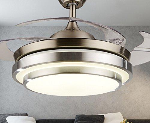 Gqlb la furtività ventilatore da soffitto w lampada ventola