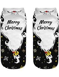 Sylar Navidad Calcetines Unisex Invierno Barato Suave Casual Tema De Navidad De Impresion 3D Calcetines Lindo
