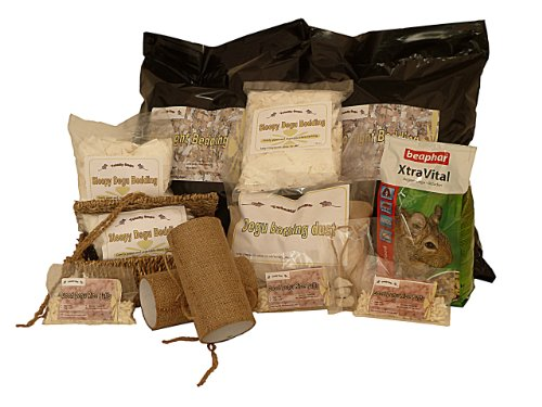 Totally Degu Pamper Hamper- Complete Degu care kit.