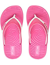 FLITE (Above 2 Years -Unisex Kid's Pink/White Flip-Flops-12 UK (30.5 EU) (FL0K51U_PKWH0012)