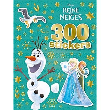 La Reine des Neiges, 300 STICKERS: Olaf