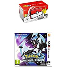 Nintendo New 2DS XL - Consola Poké Ball Edition + Pokémon Ultraluna