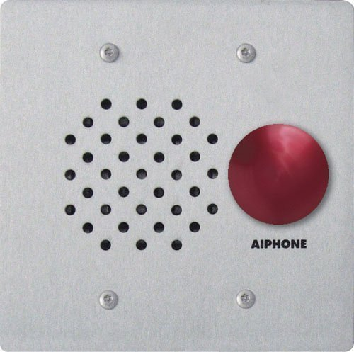 Aiphone LE-SSR Vandal- and Weather-Resistant Two-Gang Door Station For Use with AP-M, LAF-C, LDF, LEF, LEM, and MP-S Series Intercom Systems by Aiphone Aiphone Intercom