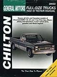 GM Full-Size Trucks, 1980-87 (Chiltons Total Car Care Repair Manual)