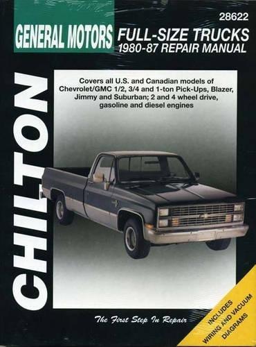 Chevrolet Pick-ups, 1980-87 (Chilton's Total Car Care Repair Manual)