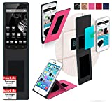 reboon Hülle für HomTom Ht6 Tasche Cover Case Bumper | Pink | Testsieger