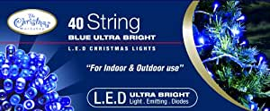 Benross The Christmas Lumières 40 Ultra Lumineux LED bandes avec lumières - Bleu