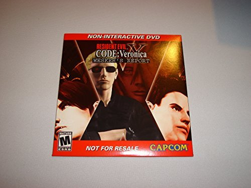 Resident Evil Code Veronica X Wesker's Report by Capcom