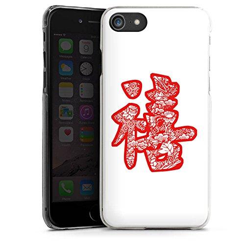 Apple iPhone X Silikon Hülle Case Schutzhülle China Schriftzeichen Asien Hard Case transparent