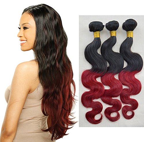 Nouvelle Arrivee! Tissage Bresiliens Ondules Cheveux Vierges 12''14\\