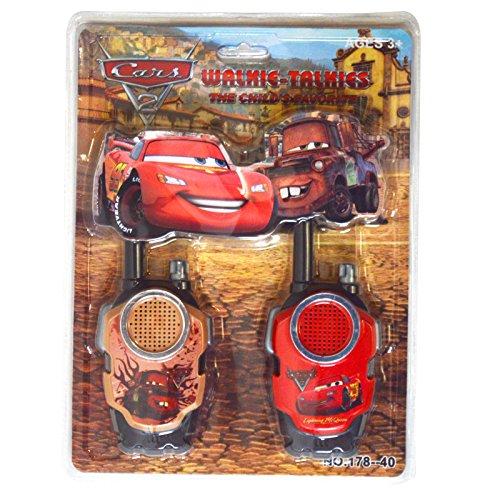 Preisvergleich Produktbild Lightning McQueen Cars 2Film batteriebetrieben Walkie Talkie Kinder spielen Set Hohe Reichweite für Outdoor/Indoor-Umgebung einfach-Design, ideal Spielzeug für und Junge Kind Kinder