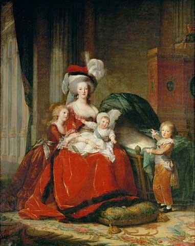 Reproduction / Poster: Élisabeth-Louise Vigée-Lébrun
