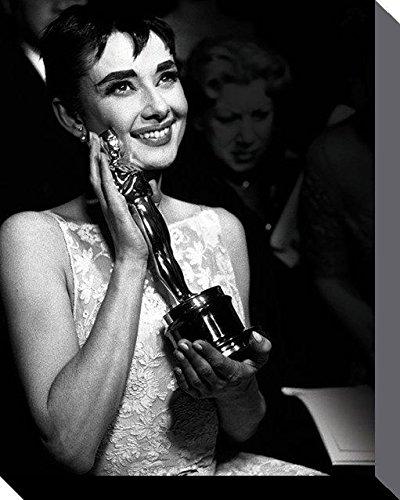 Time Life-Poster di Audrey Hepburn, Oscar Canvas