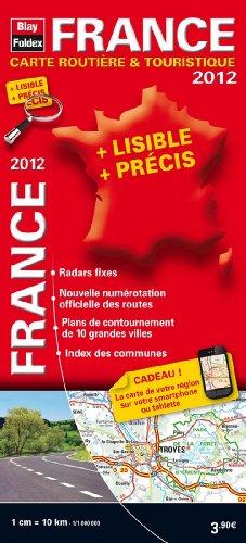 France carte routière & touristique 2012 par Blay-Foldex